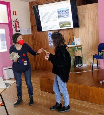 Diputación.-Diputación inicia en Adra los talleres para escolares sobre la biodiversidad de la provincia