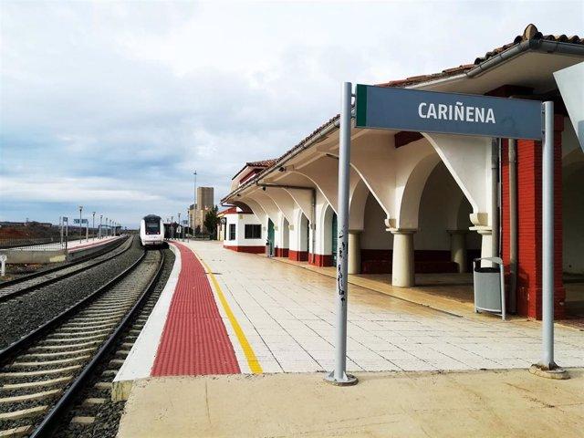 Archivo - Estación de Tren de Cariñena