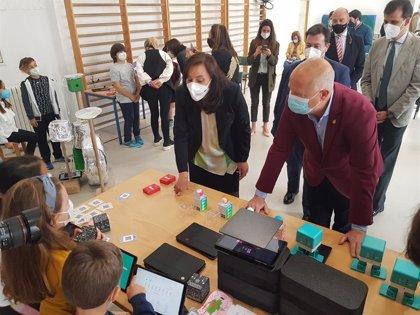 Más de 16.500 alumnos de Primaria participan en Andalucía en un programa de competencias digitales
