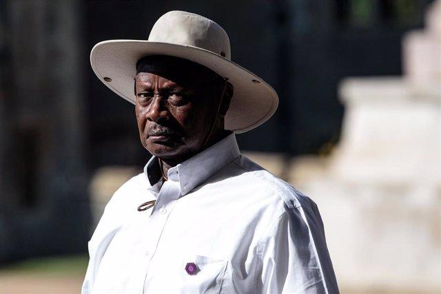 Archivo - Yoweri Museveni