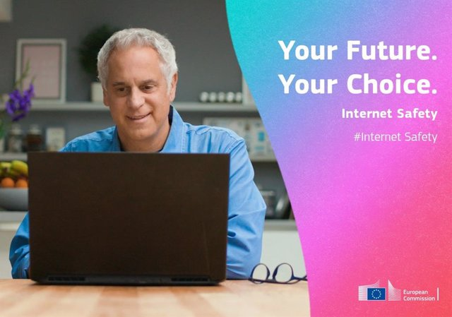 """Campaña 'Tu futuro. Tu elección"""" de la CE."""