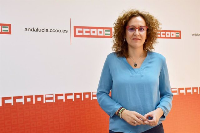 Archivo - La secretaria general de CCOO-A, Nuria López.