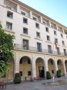 Archivo - Arxiu - Façana De l'Audiència D'Alacant