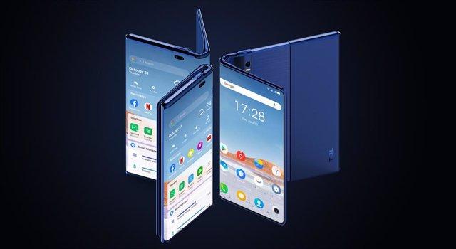 El futuro dispositivo 'Fold 'n Roll' de TCL