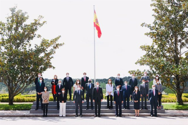 El Rey Felipe VI recibe en audiencia al Consejo Empresarial Español para el Desarrollo Sostenible.
