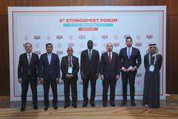 Mehmet Muharrem Kasapoglu, Minister of Youth and Sports of Turkey, Mossa Ag Attaher, Minister of Youth and Sport of the Republic of Mali, Hamza Said Hamza, Minister of Youth and Sports of the Federal Government of Somalia, Bakary Y. Badjie, Minister of Yo