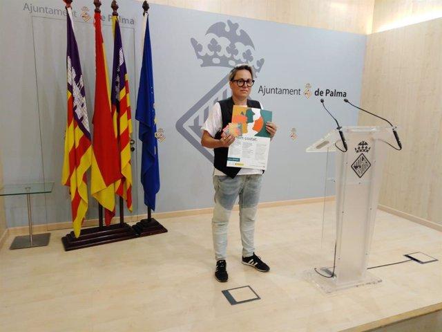 Archivo - La regidora de Justicia Social del Ayuntamiento de Palma, Sonia Vivas.