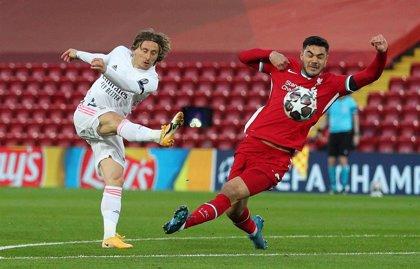 Crónica del Liverpool - Real Madrid, 0-0
