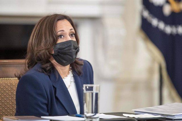 La vicepresidenta de Estados Unidos, Kamala Harris.