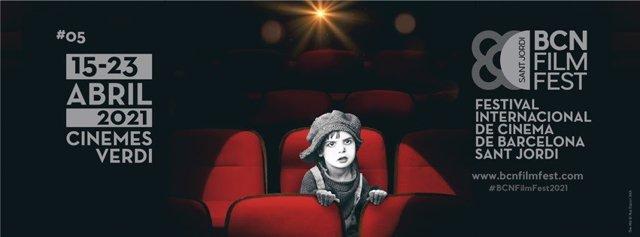 Cartell del BCN Film Fest, que conjuminarà 60 títols amb interpretacions de Vicent Cassel, Judi Dench i Johnny Depp
