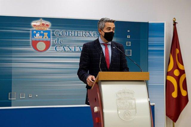 Archivo - Arxivo - El vicepresident i conseller d'Universitats, Igualtat, Cultura i Esport, Pablo Zuloaga.