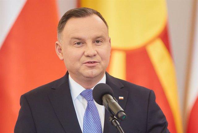 Archivo - Andrzej Duda, presidente de Polonia