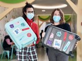 Foto: Juegaterapia presenta la iniciativa 'Maletas' para traer de vuelta a España a investigadores de cáncer