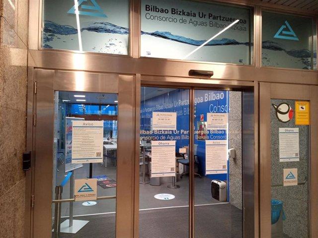 Archivo - Oficinas del Consorcio de Aguas Bilbao Bizkaia
