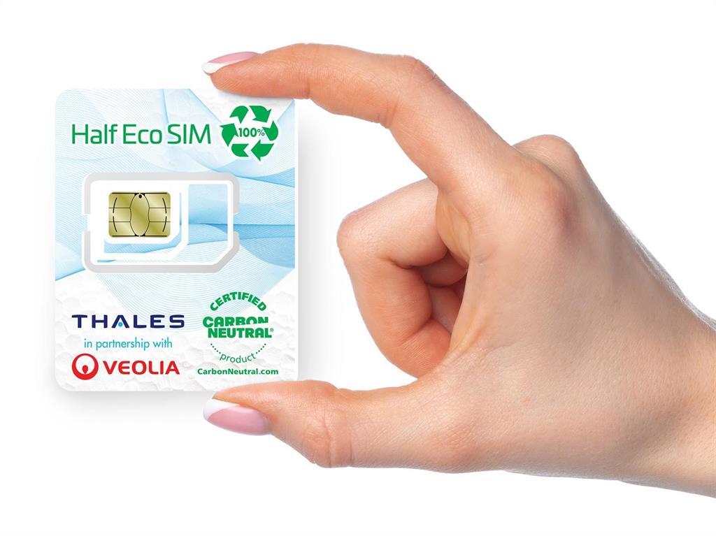 """La tarjeta eco-SIM """"ambientalmente responsable"""" hecha con plástico reciclado de residuos electrónicos"""
