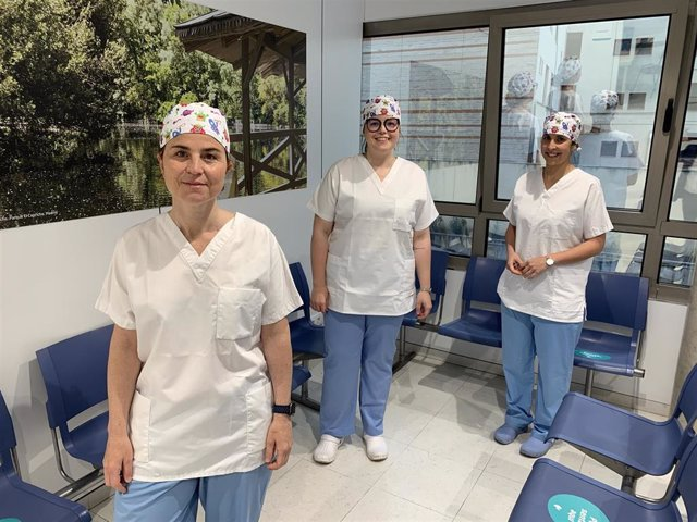 Vanesa González, Noelia Rama y Verónica Velaz.