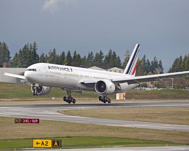 Archivo - Avión De Air France-KLM.