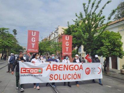"""Trabajadores de Abengoa piden """"una solución definitiva"""" que incluya el mantenimiento del empleo"""