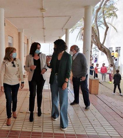 Educación.- Junta invierte 660.000 euros en las obras de ampliación del IES de San Juan del Puerto