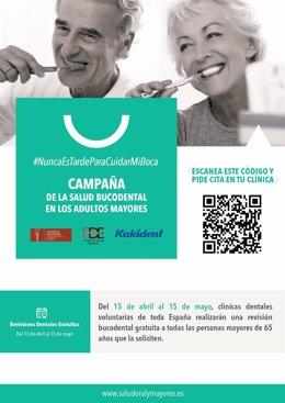 Campaña 'Salud Oral y Mayores'