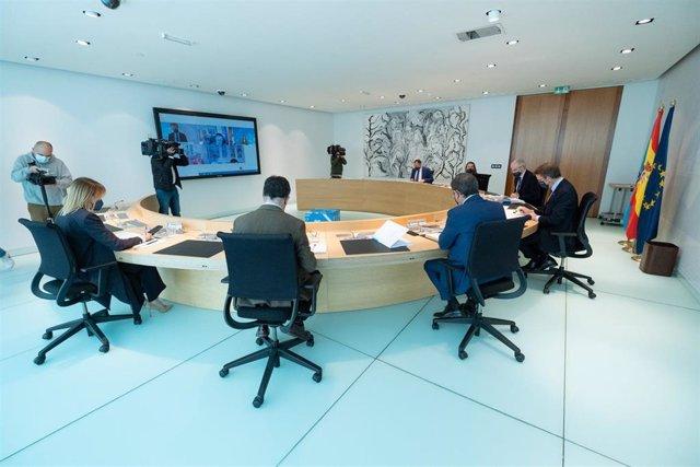 Reunión del Consello de la Xunta del 15 de abril de 2021