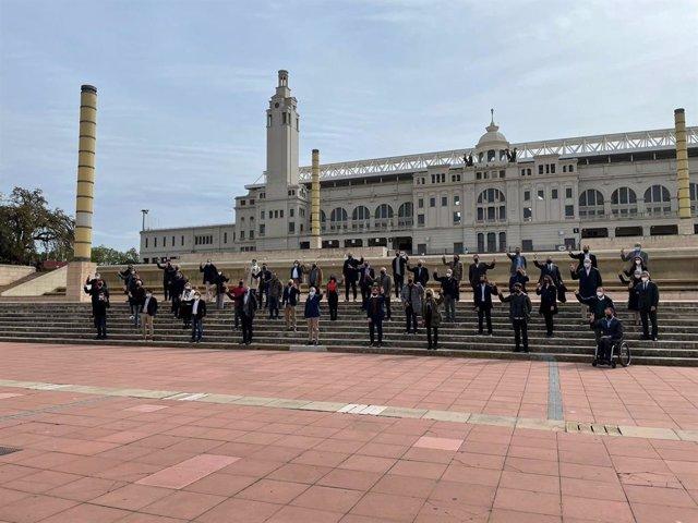 Arxiu - L'Ajuntament de Barcelona impulsarà un hub d'innovació i  tecnologia de l'esport a l'Estadi Olímpic Lluis Companys.