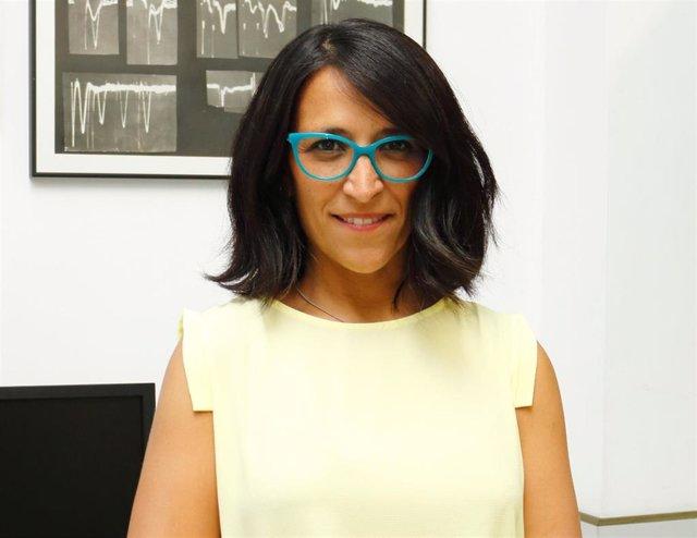 La investigadora Rocío Leal