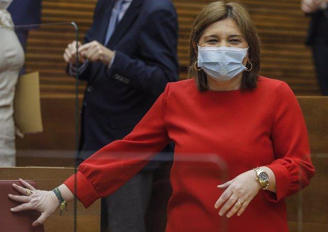 Archivo - Arxiu - La presidenta del PP de la Comunitat Valenciana, Isabel Bonig