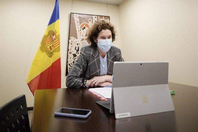 Arxiu - La ministra d'Afers Exteriors d'Andorra, Maria Ubach.