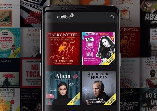 Audible app móvil