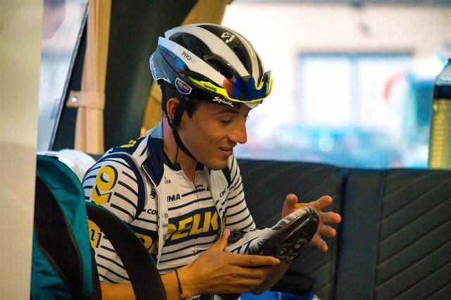 El ciclista español José Manuel Díaz, del Team DELKO francés
