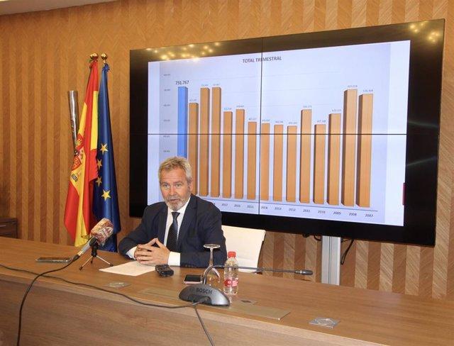 El presidente de la Autoridad Portuaria de Motril, José García Fuentes.