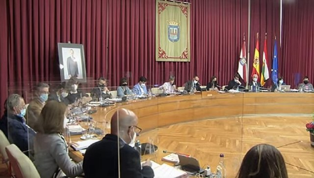 El Ayuntamiento de Logroño celebra el pleno ordinario de abril de 2021