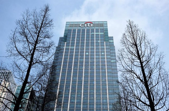 Archivo - FILED - 17 March 2017, England, London: A general view of the Citigroup Centre building in London. Photo: Jens Kalaene/dpa-Zentralbild/dpa