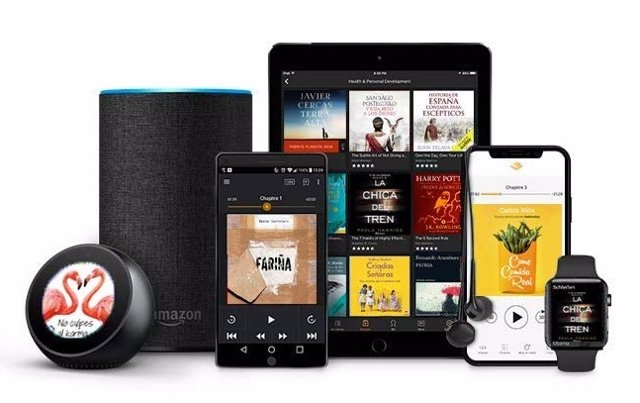 Aplicación de Audible