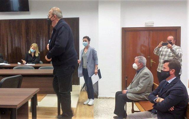 Enciso entra a declarar como testigo en el juicio contra el alcalde de El Ejido, Francisco Góngora