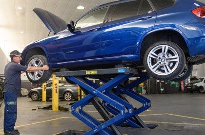 Las reparaciones de vehículos caen un 12,6% en el primer trimestre de 2021