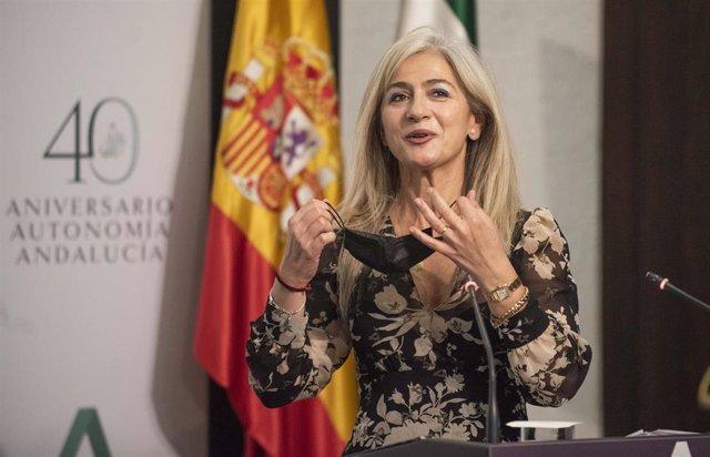 La consejera de Cultura y Patrimonio Histórico, Patricia del Pozo.