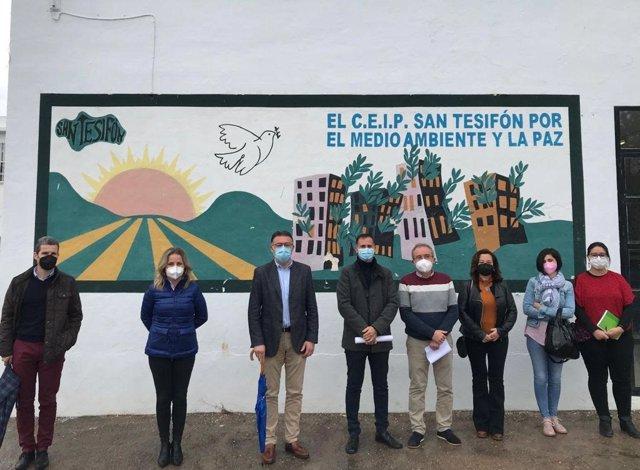 Visita al CEIP de Berja