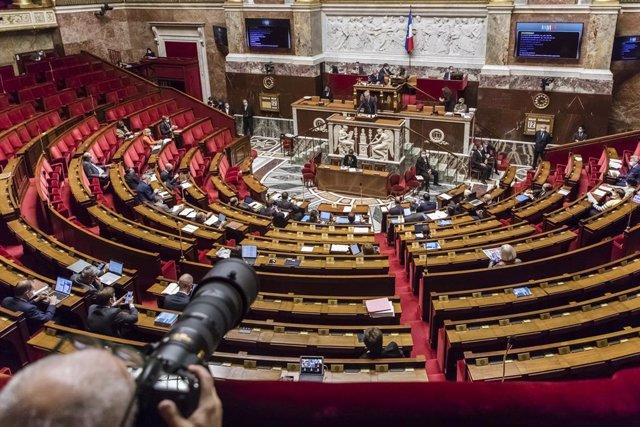 Archivo - Asamblea Nacional de Francia.