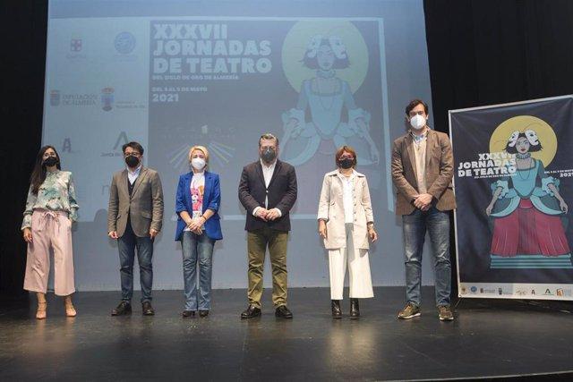 Presentación llas XXXVII Jornadas de Teatro del siglo de oro en el teatro Apolo