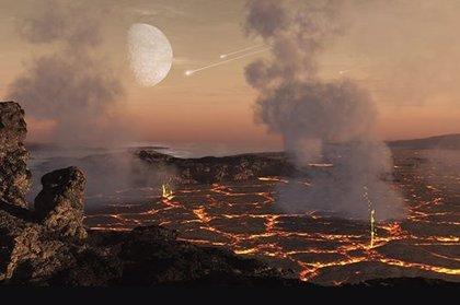 Meteoritos al horno dan pistas sobre las atmósferas de planetas rocosos