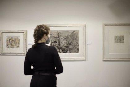 Unicaja.- La Fundación Unicaja inaugura una exposición con la obra sobre papel de Joaquín Peinado