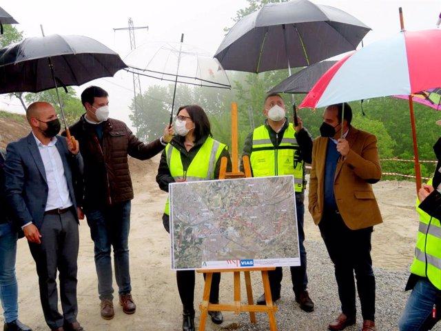 Inicio de obras de la agrupación de vertidos de la EDAR Sur de Granada