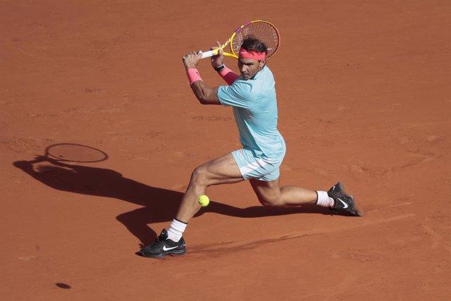 Archivo - RAFAEL NADAL (ESP) during the Roland Garros 2020, Grand Slam tennis tournament, on October 4, 2020 at Roland Garros stadium in Paris, France - Photo Stephane Allaman / DPPI