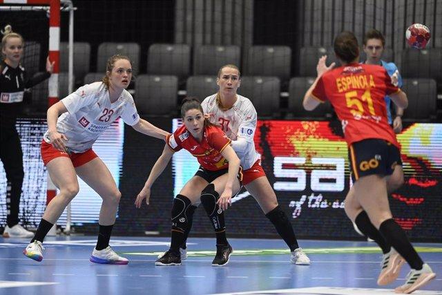 España cae ante Dinamarca en el primero de los dos amistosos entre ambas selecciones