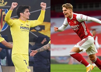 Villarreal-Arsenal y Manchester United-Roma, semifinales de la Liga Europa