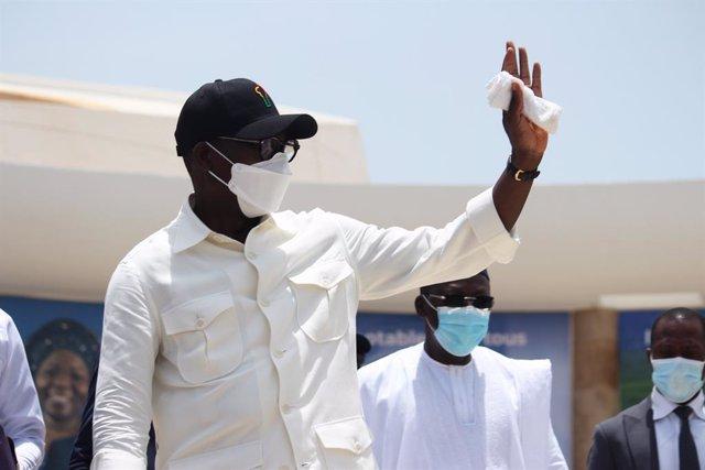 El presidente de Benín, Patrice Talon