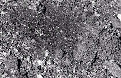 La nave OSIRIS-REX desplazó rocas al recoger muestras en Bennu