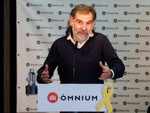 Archivo - Arxiu - El president d'Òmnium Cultural, Jordi Cuixart.
